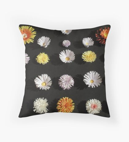 Paper Flowers 2 Throw Pillow