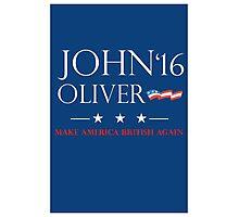 John Oliver 2016 Photographic Print
