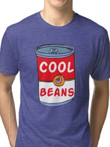Can of Cool Beans Tri-blend T-Shirt