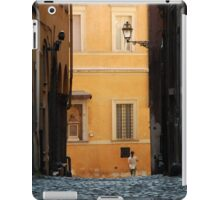 Streetscape in Orange  iPad Case/Skin