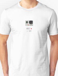 Camera GoPro Rec and GO Unisex T-Shirt