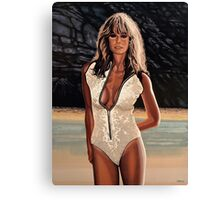 Farrah Fawcett Painting Canvas Print
