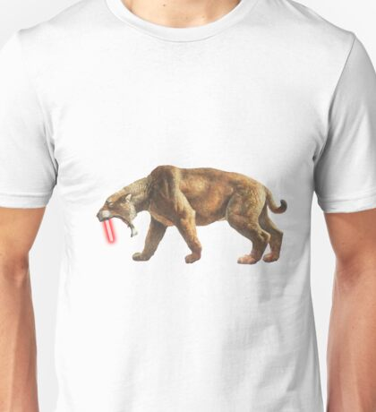 """Saber"" Tooth Tiger Unisex T-Shirt"