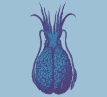 Psychedelic Squid Brain Kids Tee