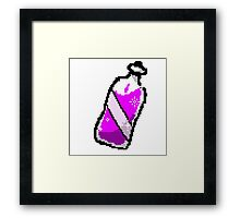 RPG Bottle Framed Print