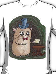 Sir Hamster with tea T-Shirt