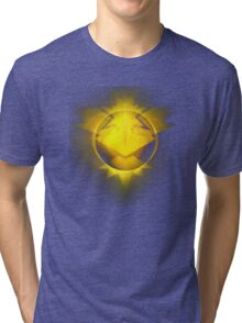 Instinct team yellow pokemongo pokemon Tri-blend T-Shirt