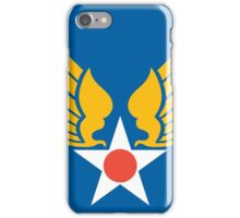 Old Hap Arnold wings iPhone Case/Skin