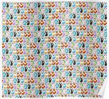 Pixel Eevees Poster