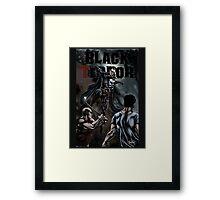 The Black Terror Framed Print
