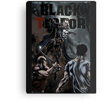 The Black Terror Metal Print