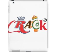 CRACK Soft Drink Soda logos iPad Case/Skin