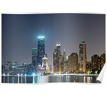 Chi-Town Cityscape  Poster