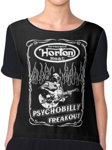 The Reverend Horton Heat (Psychobilly Freakout) Chiffon Top