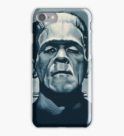 Boris Karloff as Frankenstein  iPhone Case/Skin
