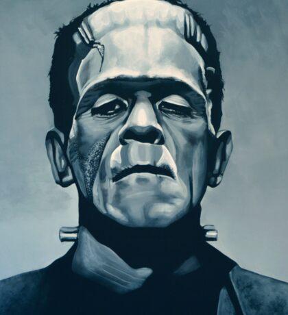 Boris Karloff as Frankenstein  Sticker
