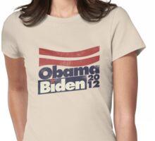 Obama Biden 2012 Womens Fitted T-Shirt