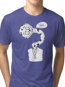 Something Smells Funny (Dark Humor #1) Tri-blend T-Shirt