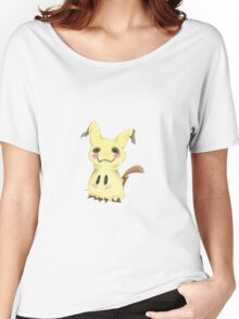 Mimikkyu Print Women's Relaxed Fit T-Shirt