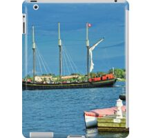 Summer Touring On The Old Ship - no.3 iPad Case/Skin
