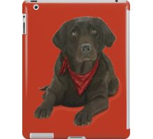 Chocolate Labrador iPad Case/Skin