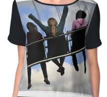Girls just want to have fun Chiffon Top