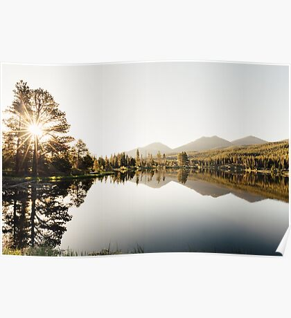 A Beautiful Sunny Morning in CO Poster