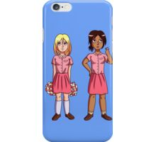 "Ymir and Historia ""But I'm a Cheerleader"" iPhone Case/Skin"