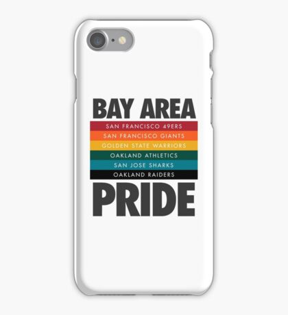 Bay Area Pride iPhone Case/Skin