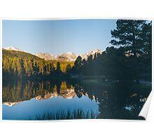 Sprague Lake Sunrise Poster