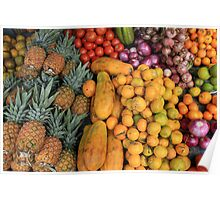 Fruit and Vegetable Stand  Poster