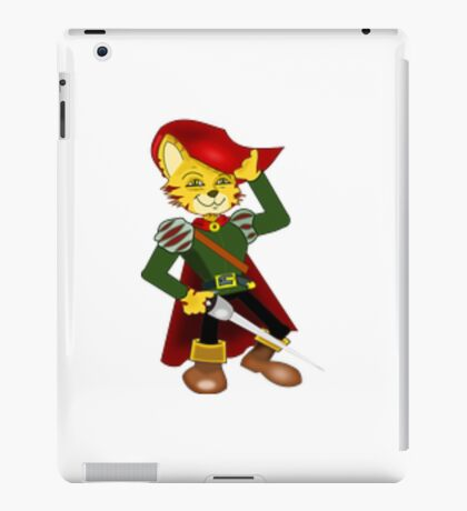 cat in boots iPad Case/Skin