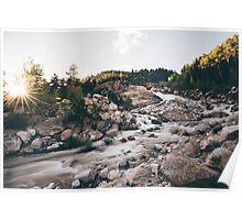 Horseshoe Falls, Colorado Poster