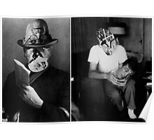 John Huston with Street Man [Ghosts Series.] Poster