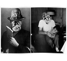 John Huston with Street Man [Ghosts Series.] Poster