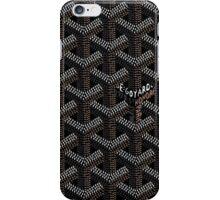 Goyard Perfect Case Black iPhone Case/Skin