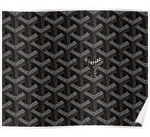Goyard Perfect Case Black Poster