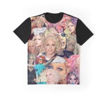 Courtney Act Collage Graphic T-Shirt