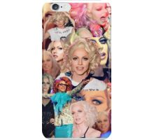 Courtney Act Collage iPhone Case/Skin