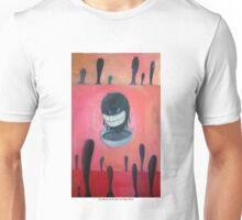 Risa falsa de cara de huevo por Diego Manuel Unisex T-Shirt