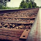 Railroad tracks by AsteriskZero