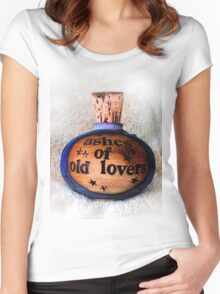 Ashes Of Old Lovers Women's Fitted Scoop T-Shirt