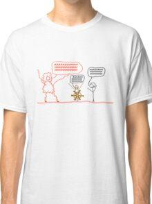 Wait but Why Panic Monster Shirt Classic T-Shirt