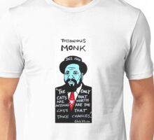 Thelonious Monk Jazz Folk Art Unisex T-Shirt