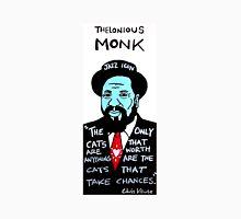 Thelonious Monk Jazz Folk Art Unisex T-Shirt