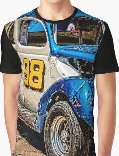 Round Track Hot Rod Graphic T-Shirt