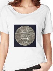 To the Moon and Back Women's Relaxed Fit T-Shirt