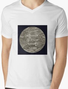 To the Moon and Back Mens V-Neck T-Shirt