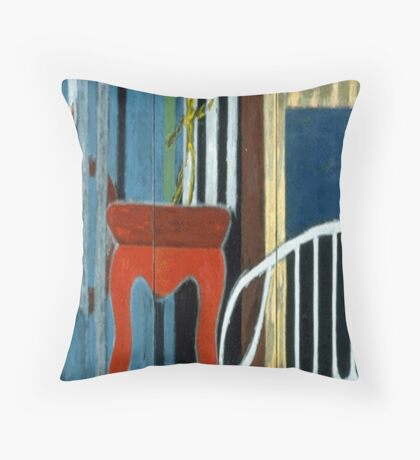 A Spider on the Stage Throw Pillow