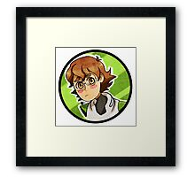 Pidge -Voltron Framed Print